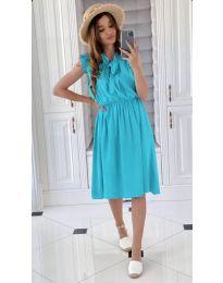 Елегантна рокля в синьо - код 701