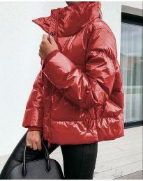 Дамско яке в червено - код 3889