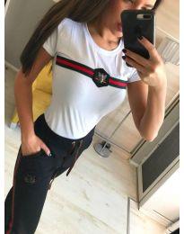 Тениска - код 210 - бяло