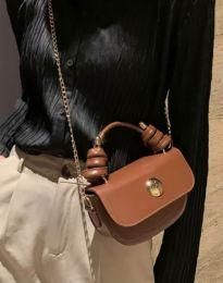 Дамска чанта в кафяво - код B417
