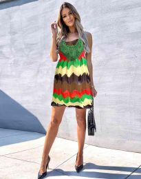 Атрактивна дамска рокля - код 0969 - 2