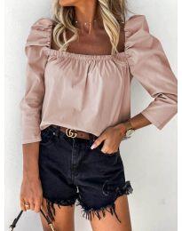 Дамска блуза в розово - код 9906