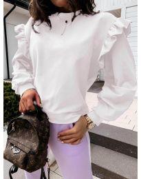 Дамска блуза в бяло - код 6613