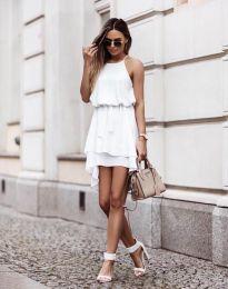 Феерична рокля в бяло - код 2104
