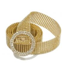 Дамски колан в златисто - код P56