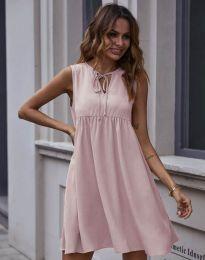 Свободна рокля в розово - код 0286