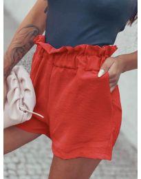 Къси панталонки в корал - код 4747
