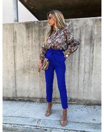 Елегантен панталон в синьо - код 788