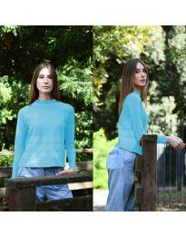Дамска блуза в синьо - код 912