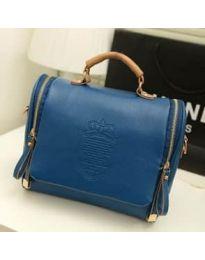 Дамска чанта в тъмно синьо - код B136