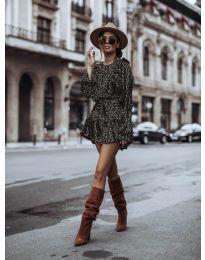 Дамска рокля в черно - код 0701