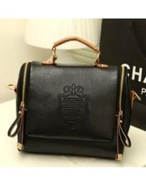 Дамска чанта в черно - код B136