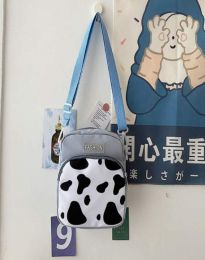 Атрактивна дамска чанта в светлосиньо - код B578
