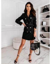 Дамска рокля в черно - код 5888