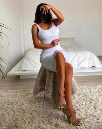 Дамска рокля в бяло - 10122