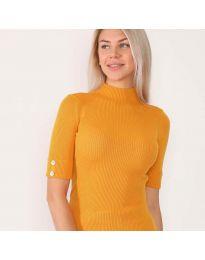 Дамска блуза в оранжево - код 2938