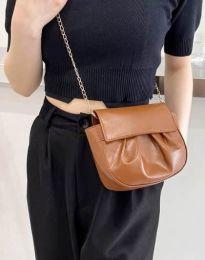 Дамска чанта в кафяво - код B449