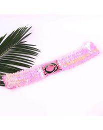 Дамски колан в розово - код Р68