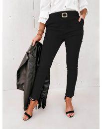 Дамски панталон в черно - код 5424
