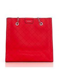 Дамска изчистена чанта в червено - LS591