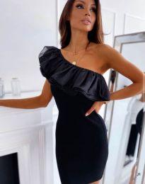 Елегантна дамска рокля в черно - код 0991
