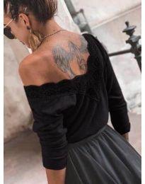 Дамска блуза в черно - код 188