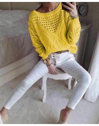 Дамска блуза в горчица  - код 6182