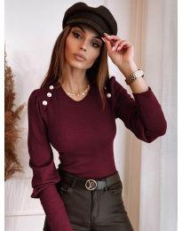 Дамска блуза в червено - код 3111