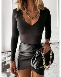 Дамска блуза в черно - код 4086
