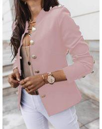 Сако с копчета в розово - код 5566