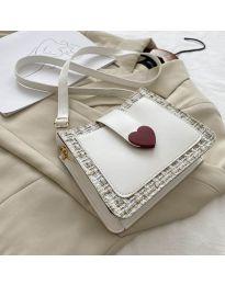 Дамска чанта в бяло - код B117