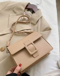 Дамска чанта в бежово - код B443