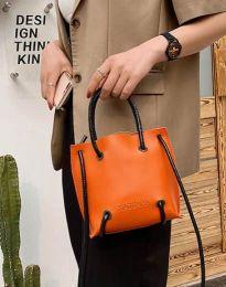 Дамска чанта в оранжево - код B459