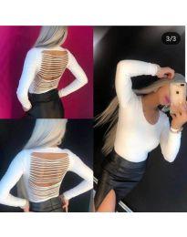Блуза - код 334 - бяло