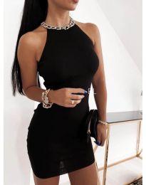 Дамска рокля в черно - код 9690