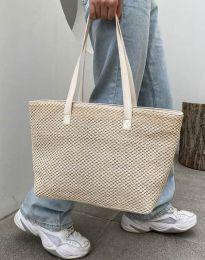Дамска чанта в бежово - код B433