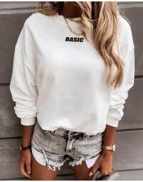 Дамска блуза в бяло - код 5154