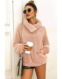 Дамска блуза в розово - код 2219
