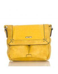 Дамска чанта в жълто - код  Y81914-1