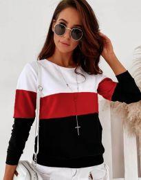 Ефектна дамска блуза - код 9966 - 2