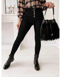 Дамски панталон в черно - код 9095