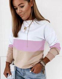 Ефектна дамска блуза - код 9966 - 6