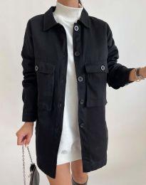 Дамско яке в черно - код 3961