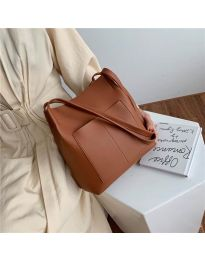Дамска чанта в кафяво - код B11