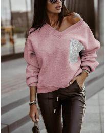 Дамска блуза в розово - код 904
