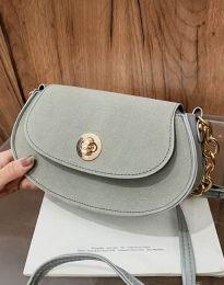 Дамска чанта в сиво - код B423