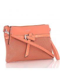 Дамска чанта в оранжево - код LS 589