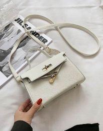 Дамска чанта в бяло - код B398