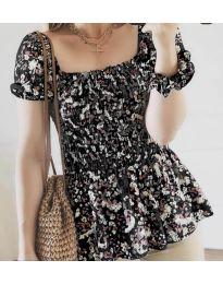 Дамска блуза в черно - код 3464