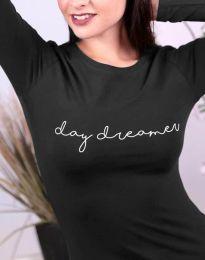 Дамска блуза в черно - код 3166